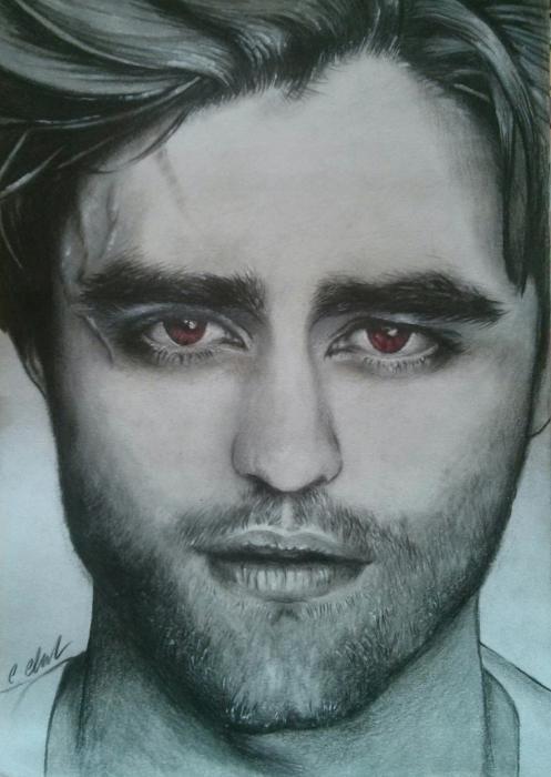 Robert Pattinson by chez
